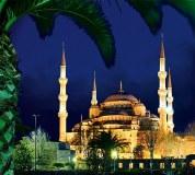 C-167 Вид на Голубую мечеть 300х270 Арабский мир
