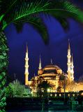 C-193 Вид на Голубую мечеть 200х270 Арабский мир