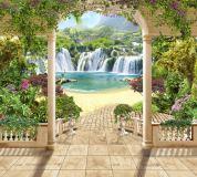 K-023 Райские водопады 300х270 Арки Проходы