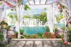 L-008 водопад 400х270 Арки-Проходы