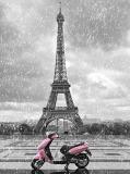 B-020 Романтичный Париж 200х270 Черно-белое
