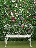 B-088 Лавочка в саду 200х270 Цветы