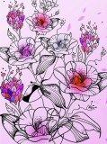 C-191 Цветы 200х270 Цветы