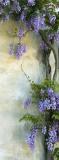 C-292 Цветы на стене  100x270 Цветы