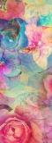 D-112 Фон принт цветы 100x270 Цветы