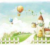 B-027 Воздушные шары 300х270 Детство