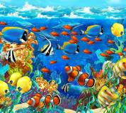 C-070 Подводный мир 300х270 Детство