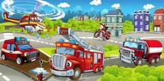 H-042 Веселый транспорт 300х147 Детские