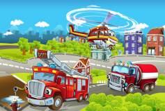 H-043 Пожарные 400х270 Детские