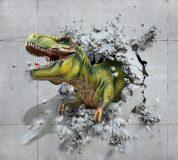 H-048 Динозавр объемный 300х270 Детские