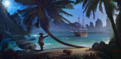 H-052 Пиратский остров 300х147 Детские