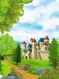 H-054 Замок на холме 200х270 Детские