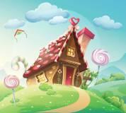 H-063 Пряничный домик 300х270 Детские