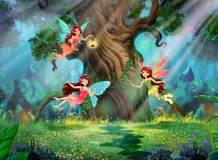 H-091 Волшебный лес 200х147 Детские