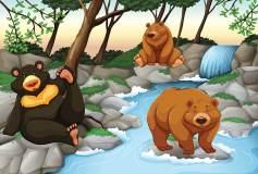 P-063 Медведи 400х270 Детство