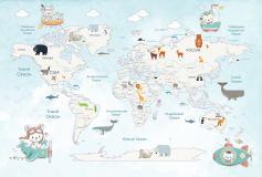 T-124 Карта путешествий 400х270 Детство