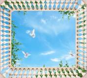P-033 Вид на небо 300х270 Для потолка