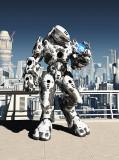 A-074 Робот 200х270 Фантазия