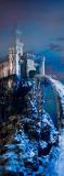 E-034 Черный замок 100х270 Фантазия