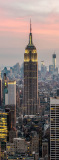 A-086 Небоскребы Нью-Йорка 100х270 Мегаполис