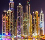 C-049 Дубай ночь 300х270 Мегаполис