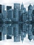 D-041 Отражение города 200х270 Мегаполис