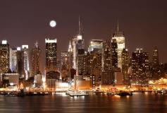 L-112 Луна над Манхэттеном 400х270 Мегаполис