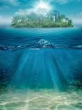E-003 Островок 200х270 Море - Океан