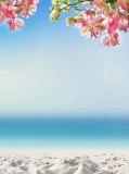 D-004 Песчанный пляж 200х270 Море • Океан