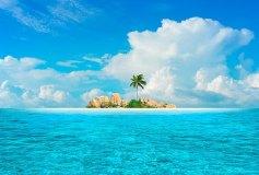 D-100 Остров 400х270 Море • Океан