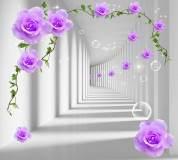 L-058 Туннель с розами 300х270 Объемные