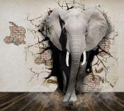 L-095 Слон 300х270 Объемные