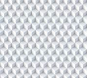 T-030 Белые кубики 300х270 (повторяющиеся) Объемный