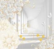 T-082 Декоративные цветы 300х270 Объемный