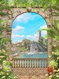B-052 Вид на гавань 200х270 Окна - Балконы