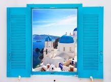 B-063 Окно Санторини 200х147 Окна - Балконы