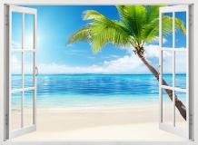B-100 Окно на пляж 200х147 Окна - Балконы