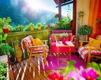 D-007 Солнечная терраса 300х238 Окна - Балконы