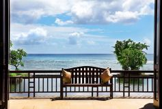 D-026 Скамейка на балконе 400х270 Окна - Балконы
