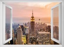 H-024 Окно с видом на город 200х147 Окна - Балконы