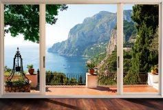 P-036 Вид на остров Капри 400х270 Окна-Балконы