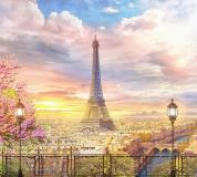 P-037 Вид на Париж 300х270 Окна-Балконы