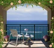 P-038 вид с балкона на море 300х270 Окна-Балконы