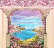 T-043 В цветах 300х270 Окна-Балконы