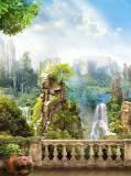 H-012 Водопад 200х270 Пейзажи