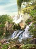 K-050 Водопады на горе 2 200х270 Пейзажи