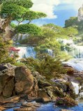 T-066 Водопады 200х270 Пейзажи