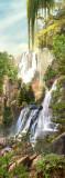 K-049 Водопады на горе 100х270 Пейзажи