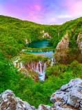 K-051 Широкий водопад 200х270 Пейзажи