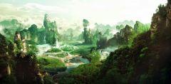 L-104 Панорама с водопадом 300х147 Пейзажи